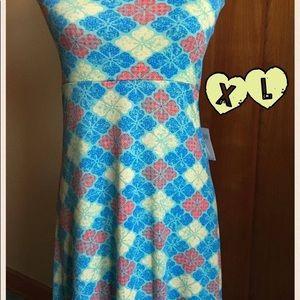 Beautiful LuLaRoe XL Floral Maxi Skirt.